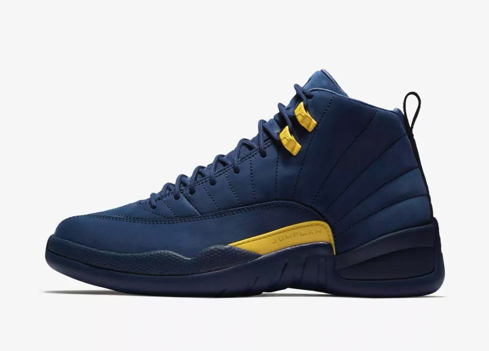 Jordan 12 Michigan
