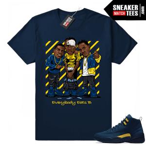 Jordan 12 sneaker tees
