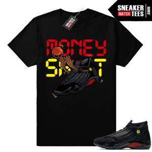 Jordan 14 last shot matching shirt