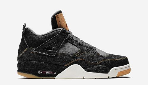 Jordan release dates Black Levis Jordan 4