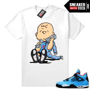 Air Jordan 4 matching shirt