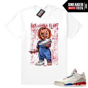 Jordan 3 Charity Game sneaker tees