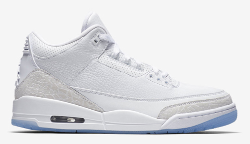 Jordan release date Jordan 3 White