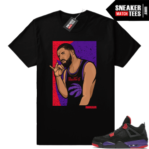 Drake Raptor 4s Sneaker tee
