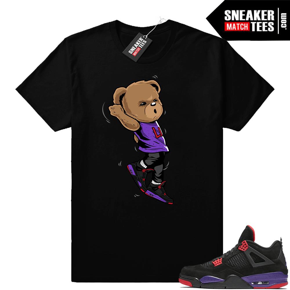 Jordan 4 Court Purple Sneaker Match Tees