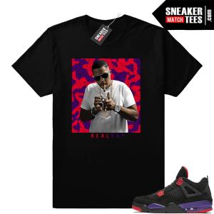 Jordan 4 Raptors Nas Real Rap shirt