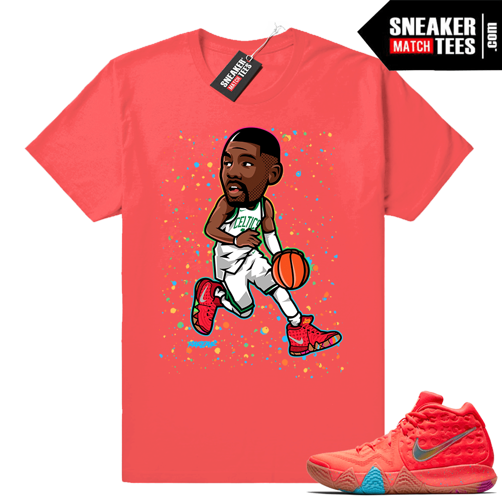 Nike Kyrie 4 Lucky Charms matching shirt