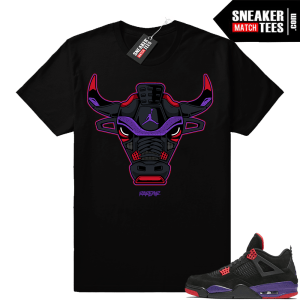 Raptors 4s Sneaker tee Shirts to Match
