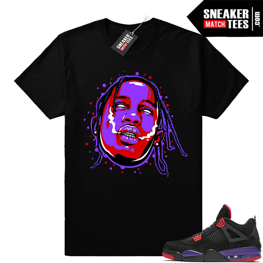 Travis Scott Raptor 4s t shirts