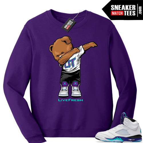 Jordan retro 5 Sweatshirt