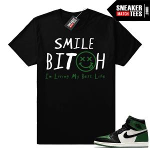 Pine Green 1 Jordan shirt