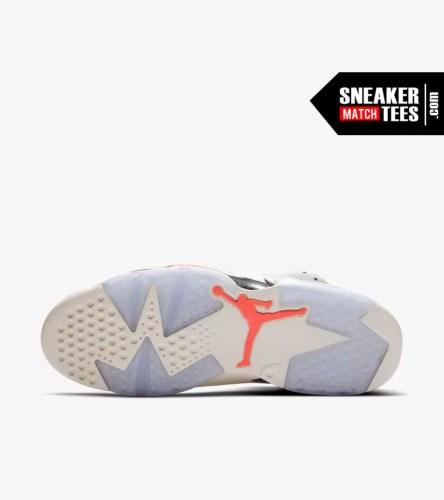 Shop Jordan Retro 6 Tinker shirts match sneakers (3)