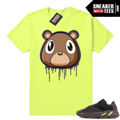 Yeezy Bear Mauve 700 sneaker tee shirt