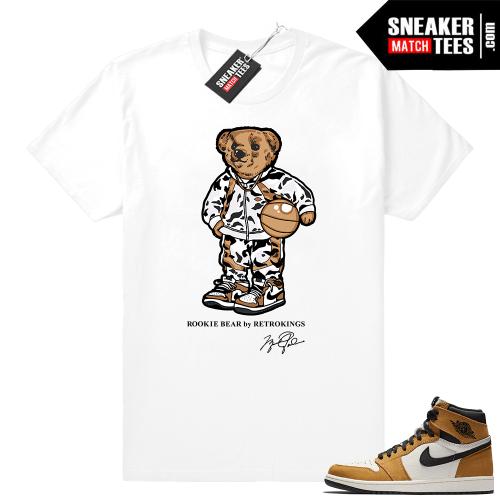 Jordan 1 Rookie of the Year shirt match sneakers