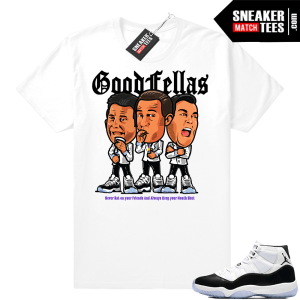 outlet store 99bd2 1ef51 ... match Jordan 11 Low Baron Sneakers  Jordan 11 Goodfellas T-shirt  Jordan  11 Citrus ...