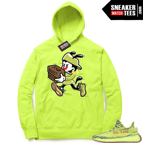 Frozen Yellow Yeezy match