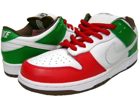 Nike Dunk Low Pro SB – Cinco De Mayo – White - White ...