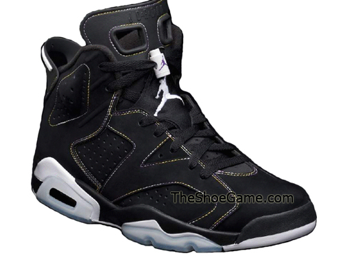 Air Jordan VI (6) Retro   Black   White   Spring 10