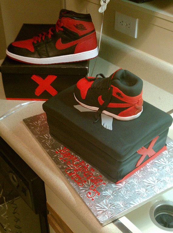 Air Jordan 1 Banned Birthday Cake