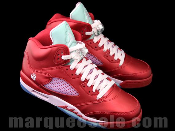Air Jordan V GS Valentines Day