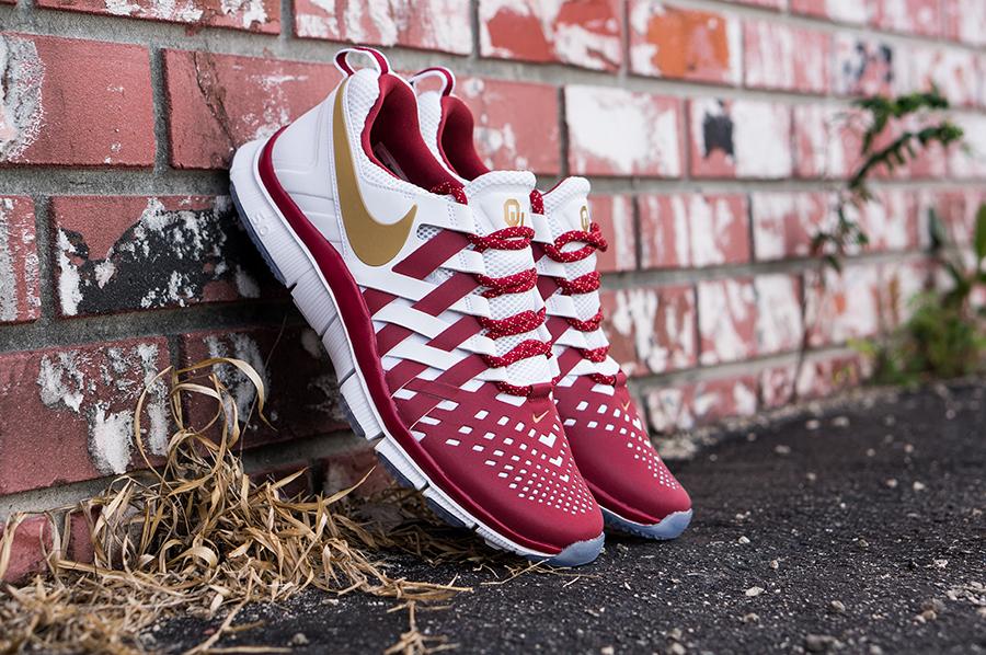 Nike Free Trainer 5 0 Oklahoma Sooners