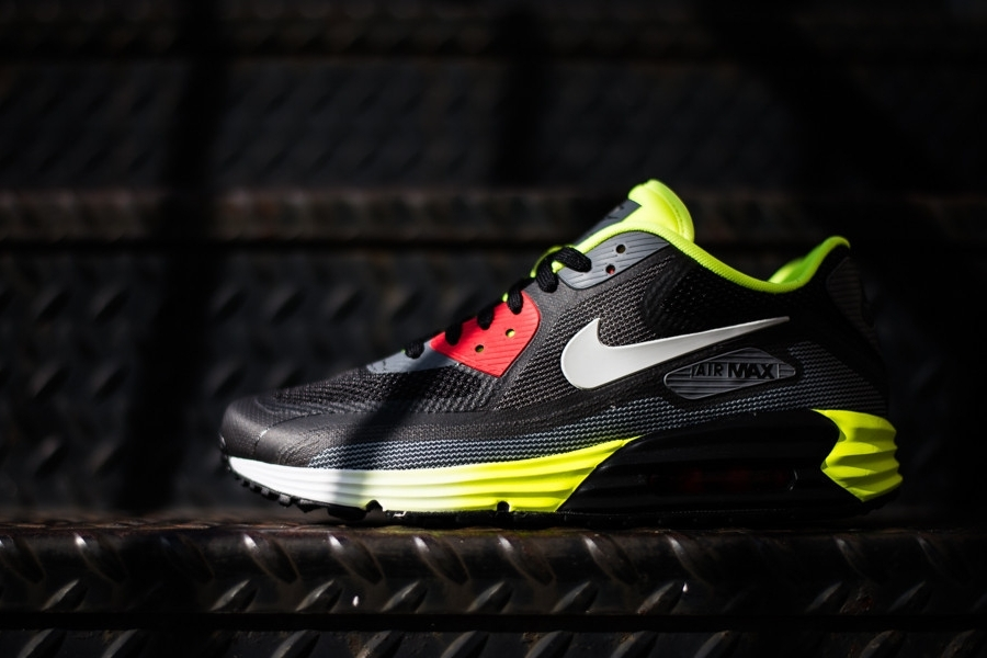 Nike Air Max Lunar90 3.0 – Black – Anthracite – Volt
