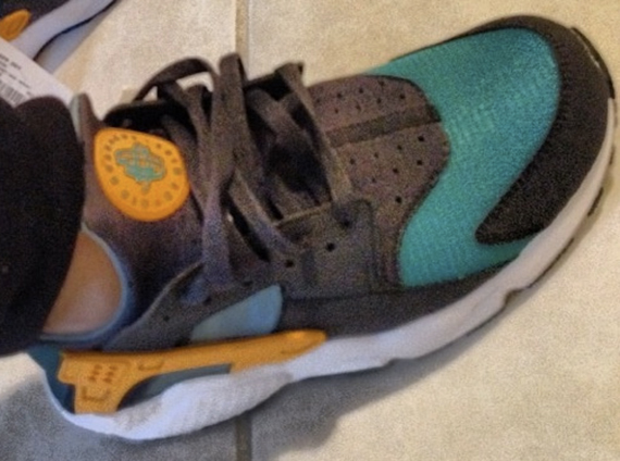 the best attitude cff5e fee74 Nike Air Huarache – Teal – Orange – Black – White  Sportswea