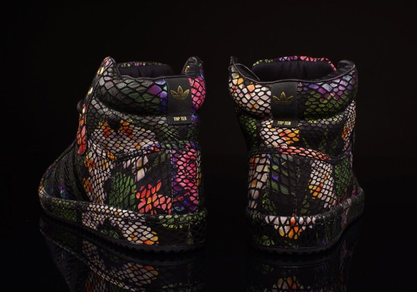 "adidas Originals Top Ten High ""Floral Snake"" - SneakerNews.com"