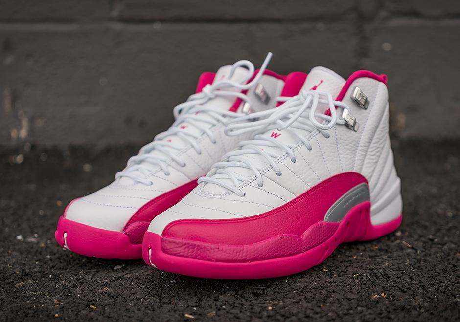 Air Jordan 12 Valentines Day Vivid Pink Release Info
