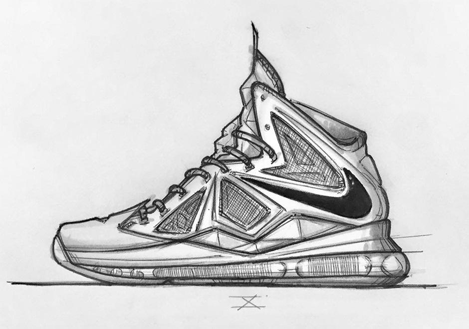 Doodle Sketches Shoes