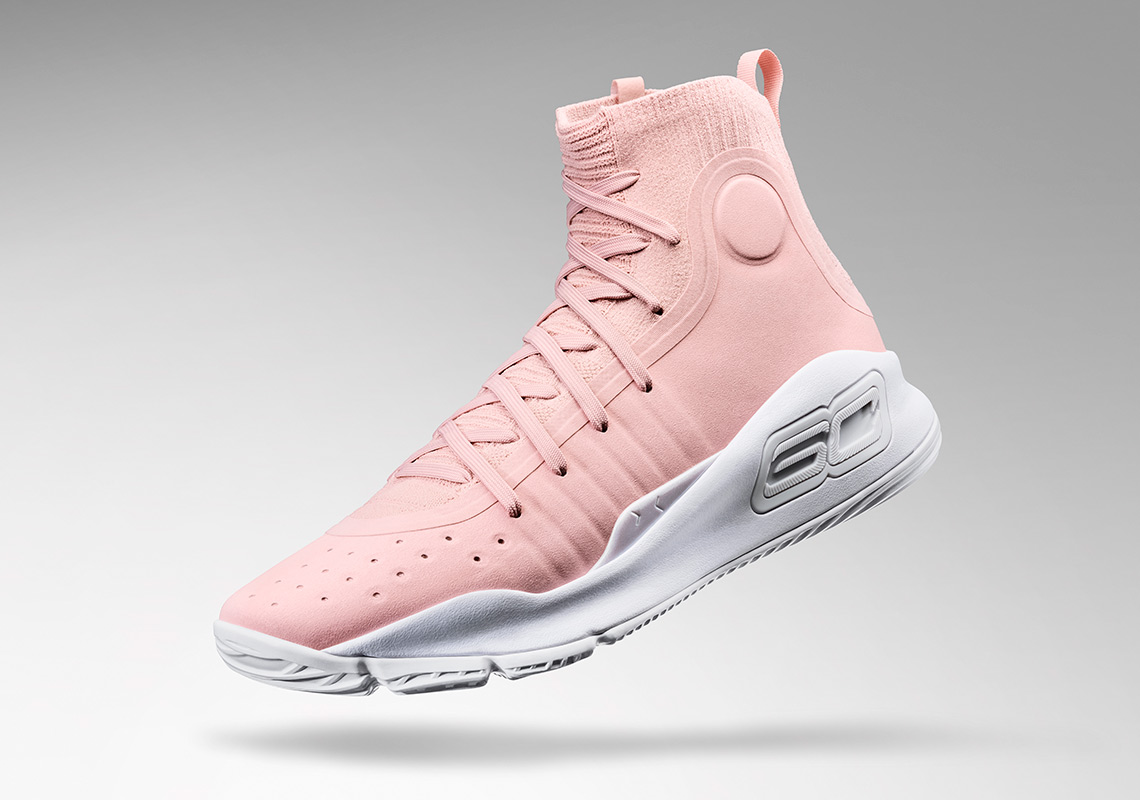 UA Curry 4 Flushed Pink Valentines Day