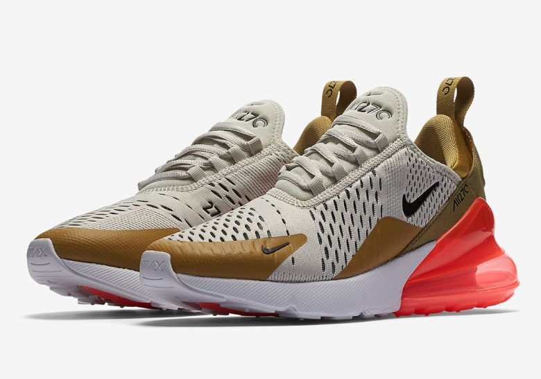 Image result for Air Max 270 gold