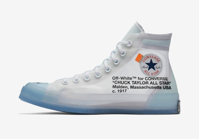Image result for Off white chuck taylors