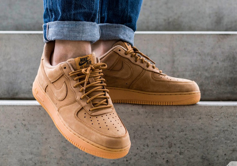Nike Air Force 1 Low Flax Aa4061 200 Release Info