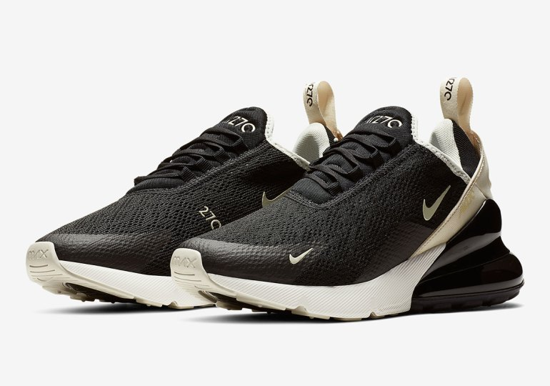 d15eb4df5fd The Nike Air Max 270 Arrives In A Clean Black And Beige - Buzz Banter