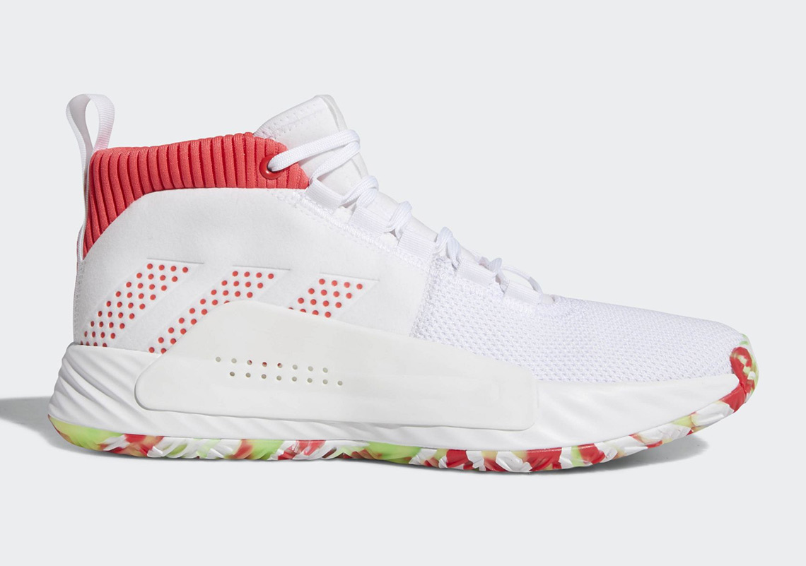 """The adidas Dame 5 """"All Skate"""" Features Multi colored Soles"""