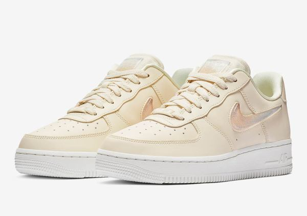 Nike Air Force 1 Womens Jelly Swoosh AH6827-100 Info ...