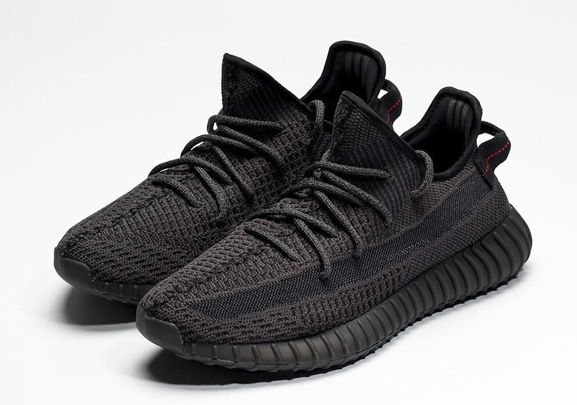adidas Yeezy 350 v2 Black - Release Date | SneakerNews.com