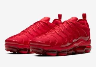 Nike Air Vapormax Plus 'University Red' 0.00 Free Shipping