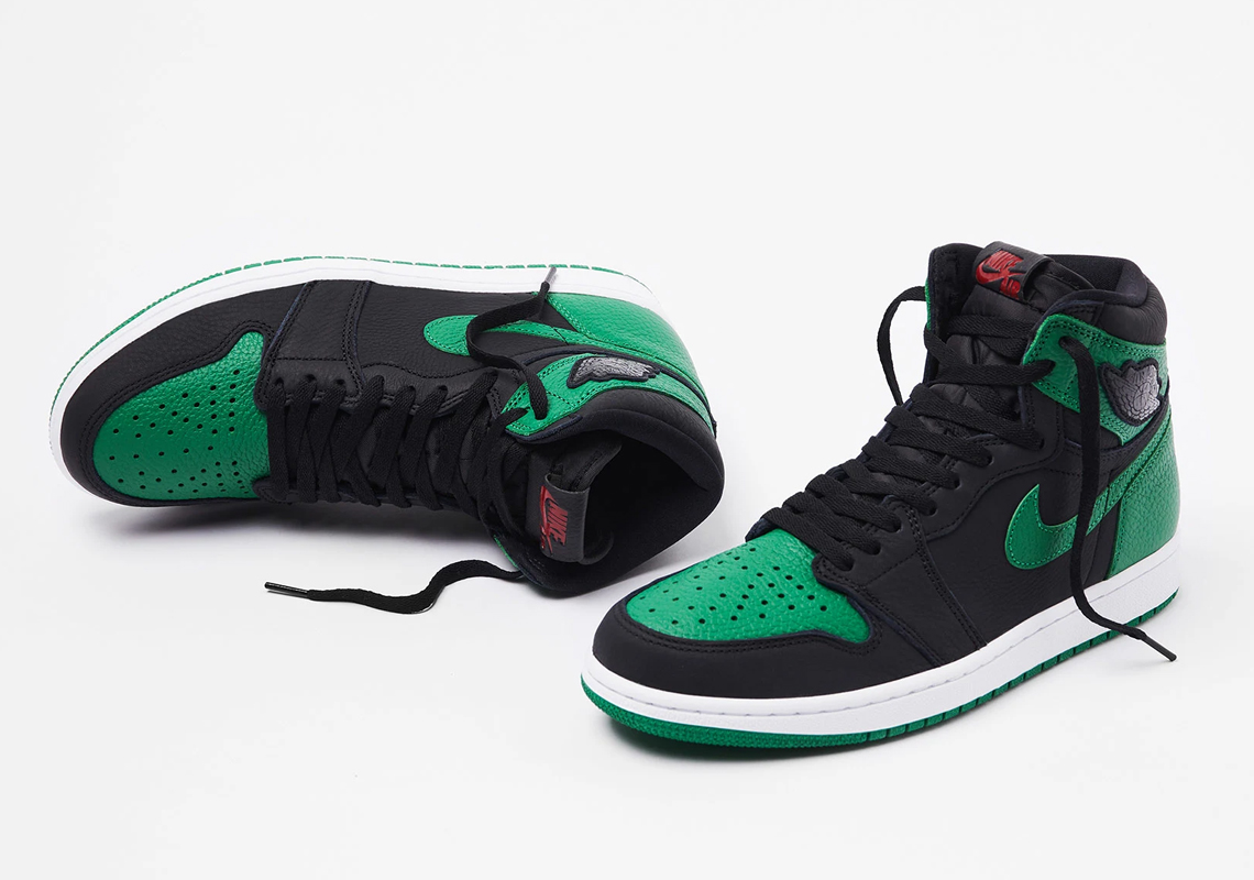 Air Jordan 1 Pine Green 555088 030 Date de sortie Crumpe