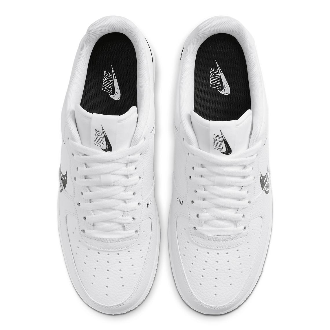 Nike Air Force 1 Low Sketch Pack Noir CW7581 101 Crumpe
