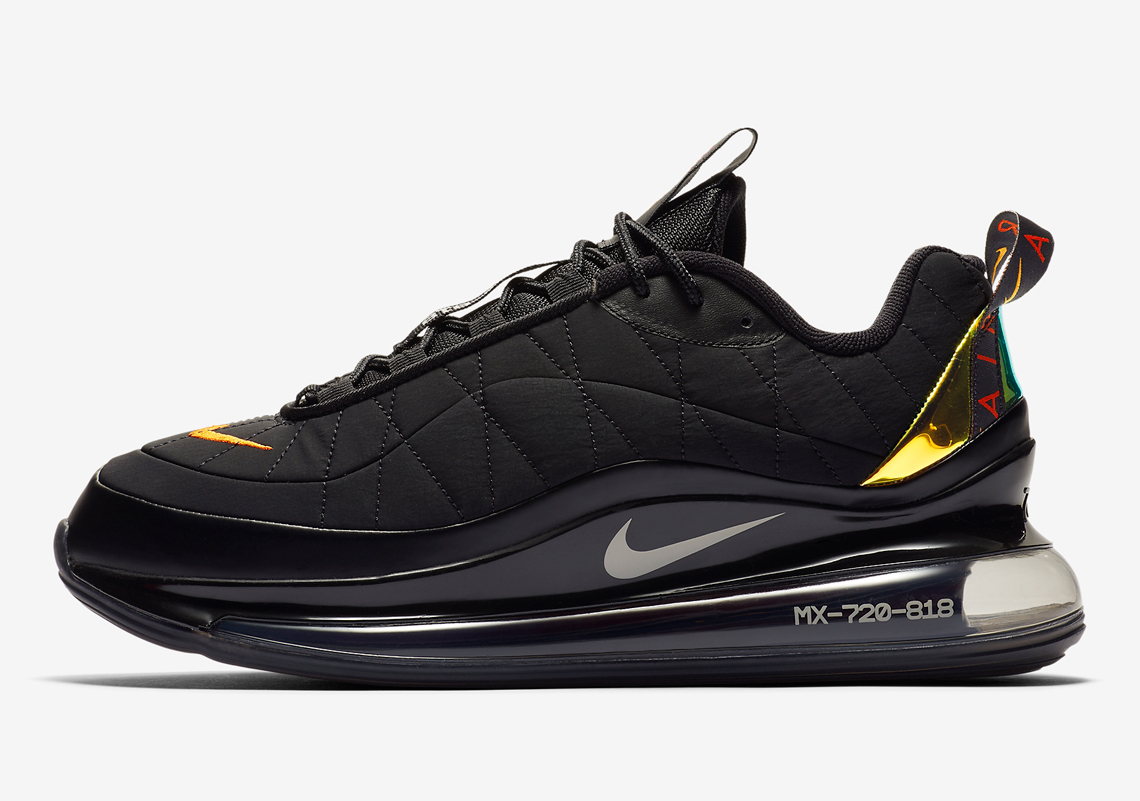 Nike Air Max 720-818 Noir Or CV1646-001 - Crumpe