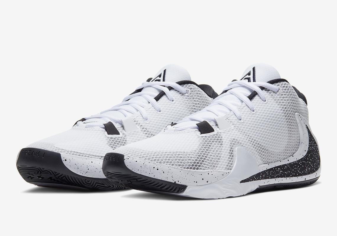 Nike Zoom Freak 1 Blanc Noir BQ5422-101 - Crumpe