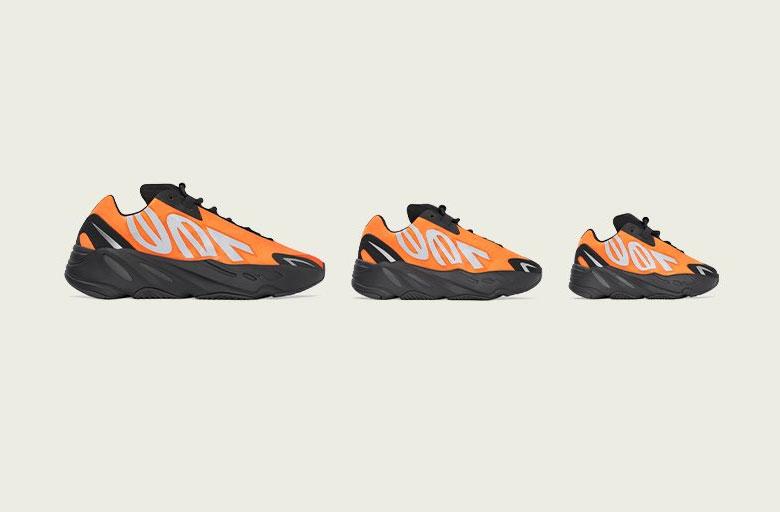 adidas YEEZY 700 MNVN Orange - Infos Release - Crumpe