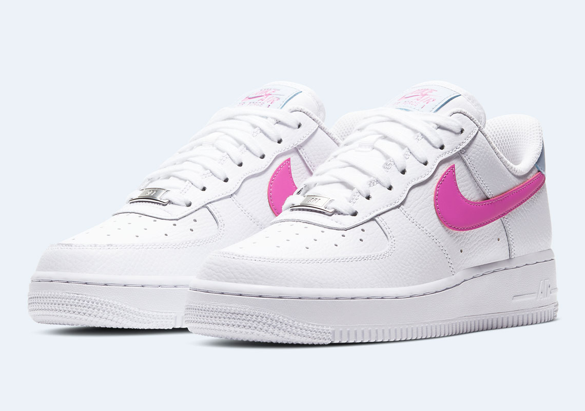 air force 1 low rose bleu