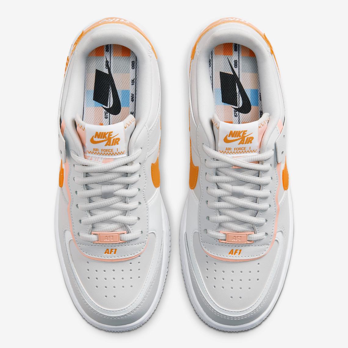 Nike Air Force 1 Shadow Team Orange CQ9503 100 Crumpe
