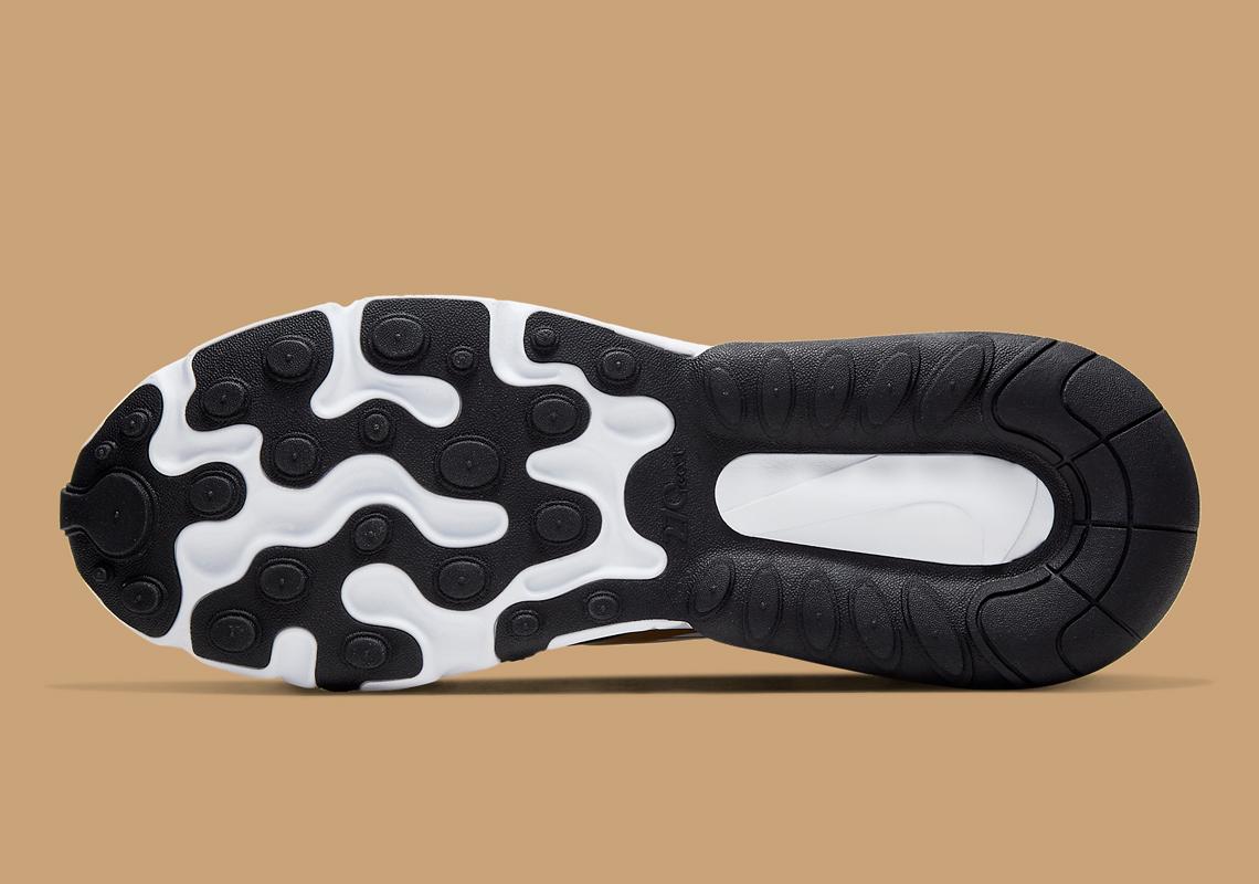 Nike Air Max 270 React Noir Or CW7298 100 Crumpe