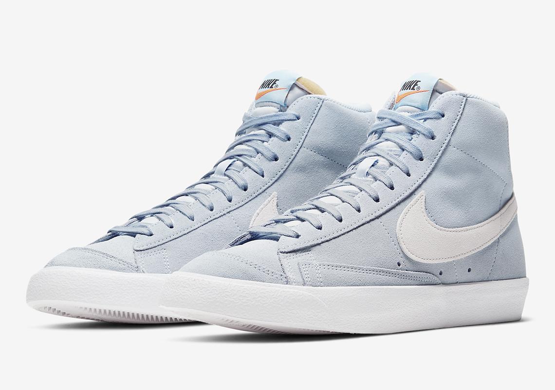 Infos Nike Blazer Mid 77 Hydrogen Blue CI1172-401 - Crumpe