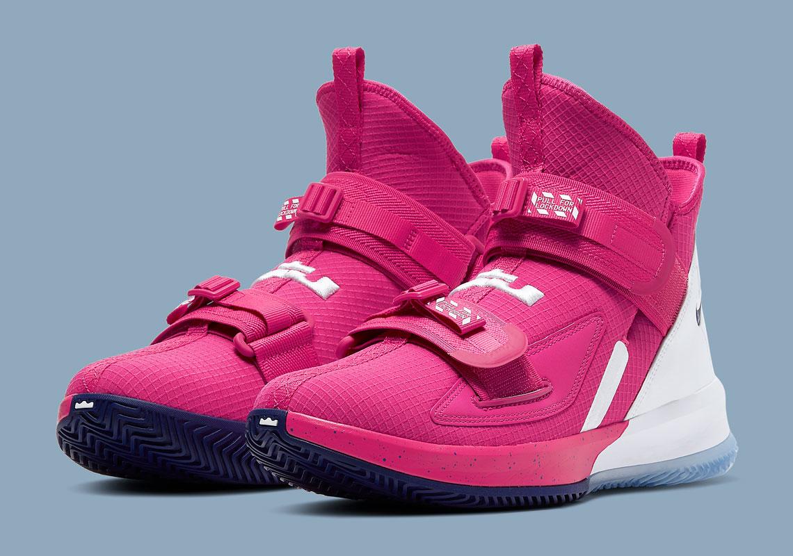 Nike LeBron Soldier 13 Kay Yow CV1942 600 Crumpe