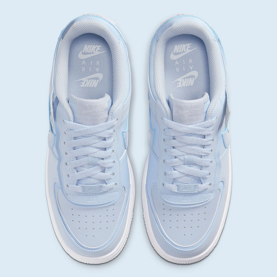 air force 1 shadow triple blanc femme